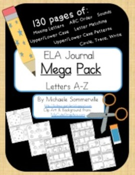 Pre-School and Kindergarten ELA MEGA Pack