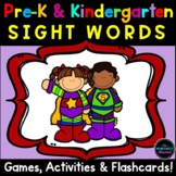 Pre-Primer and Primer Sight Word Activities Bundle