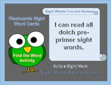 Pre Sight Word Fun and Games