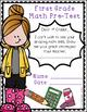 Pre-Test for entering 1st graders (Math)