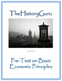 Economic Principles Pre-Assessments