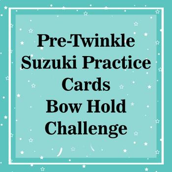 Pre-Twinkle Suzuki Violin Practice Cards