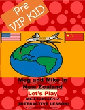 Pre VipKid lesson MC-L1-U3-LC1-2 Meg and Mike in New Zealand