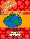 Pre Vipkid Lesson MC-L1-U7-LC1-1 Meg and Mike in Egypt