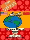 Pre Vipkid Lesson Meg and Mike in Egypt (MC-L1-U7-LC1-3) Food