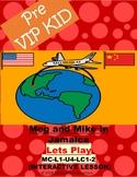 Pre Vipkids lesson MC-L1-U4-LC1-2 Meg and Mike in Jamaica