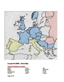 Pre World War II Map of Europe