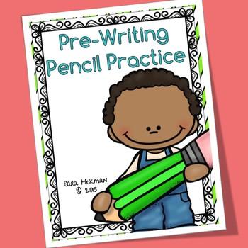 Spring Pre-Write Pencil Practice Sheets
