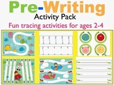 Pre-Writing Activity Pack for Toddlers and Pre-K