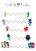 PJ Masks Pre Writing Activity Worksheets