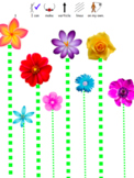 Plants/ Flowers Themed Pre Writing Activity and Pencil Control