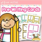 Pre-Writing Cards Fine Motor Skills