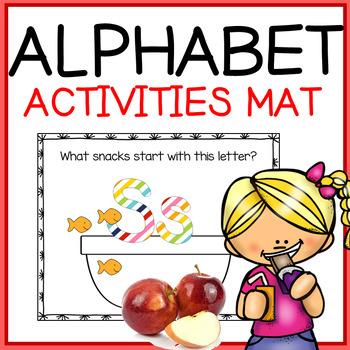 Pre-Writing - Alphabet Snack Mats