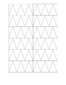 Pre-Writing & Fine Motor Printable Activity Sheet
