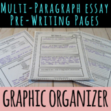 Pre-Writing Graphic Organizer for Persuasive and Opinion Essays