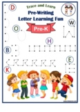 Pre-Writing Letter Learning Fun A-Z