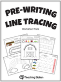 Pre-Writing Line Tracing Workbook in Color