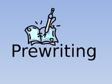 Pre-Writing Overview