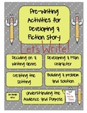 Pre-Writing Planning Guides for Fiction Writing: Getting Writing Started!