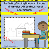 Pre-Writing - Tracing Lines and Shapes  *FREE