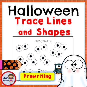 Pre-Writing - Fine Motor Skills: Fall, Halloween and Thanksgiving