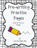 Pre-Writing Practice Pages: MEGA Pack {BUNDLE Save 20%}