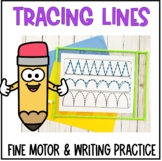 Pre Writing Practice - Tracing Lines