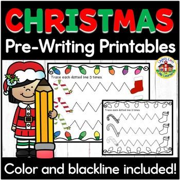 Pre-Writing Printables Bundle