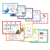 Kindy Pre-Writing Set of 10