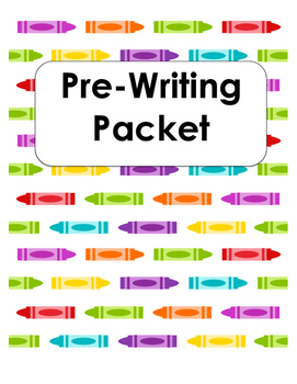 Pre Writing Skills Packet