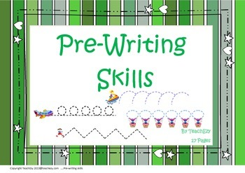 Pre-writing Skills Teaching Resources | Teachers Pay Teachers