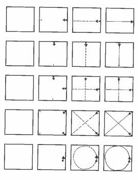 Pre-Writing Stokes l , - , + , X , O