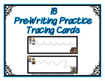Pre-Writing Strips Cards ~ Preschool ~  Pilgrim Life - Thanksgiving