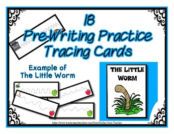 Pre-Writing Strips Cards ~ Preschool ~ Thanksgiving Dinner