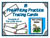 Pre-Writing Strips Cards ~ Preschool ~ Thanksgiving Dinner
