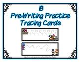 Pre-Writing Strips Cards ~ Preschool ~ Thanksgiving Parade