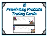 Pre-Writing Strips Cards ~ Preschool ~ Thanksgiving Parade