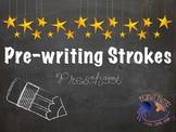 Pre Writing Strokes for Preschool and Kindergarten