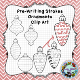 Pre-Writing Themed Ornaments