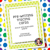Pre-Writing Trace Cards
