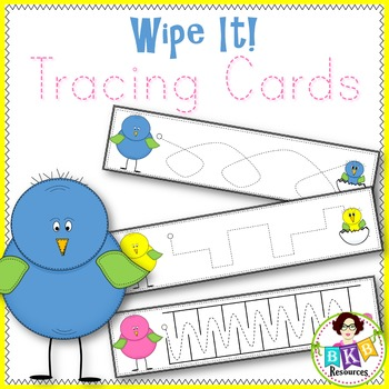 Prewriting Cards● Tracing Lines ● Write On ● Fine Motor Skills● Printable