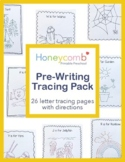 A-Z Pre-Writing Handwriting Tracing Pages Pack for Prescho