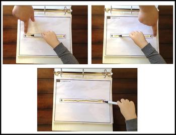 Fine Motor Skills: Pre-Writing Tracing Shapes