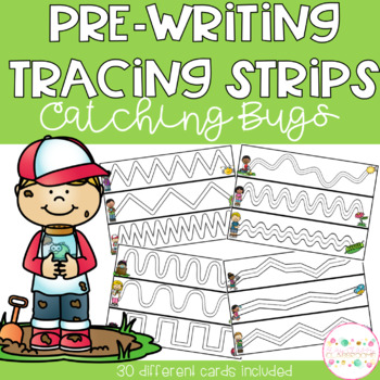 Pre-Writing Tracing Strips - Catching Bugs