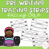 Pre-Writing Tracing Strips - Racing Cars
