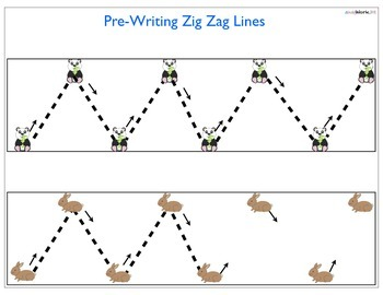 Pre-Writing WorkSheets for toddlers