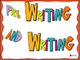 Pre Writing and Writing