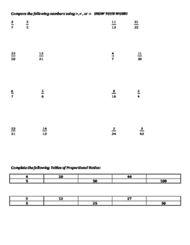 Pre-algebra - Basic Math Pretest