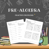 Pre-algebra Practice Problems