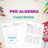 Pre-algebra Practice Workbook